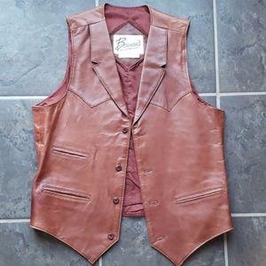 Jackets & Blazers - Vintage Leather vest